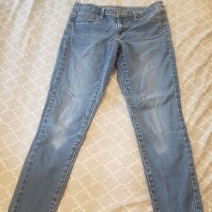 Mossimo Mid Rise Denim Leggings